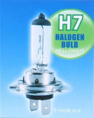 h7 xenon halogen gl hbirne in 4 farben 12v 55w. Black Bedroom Furniture Sets. Home Design Ideas