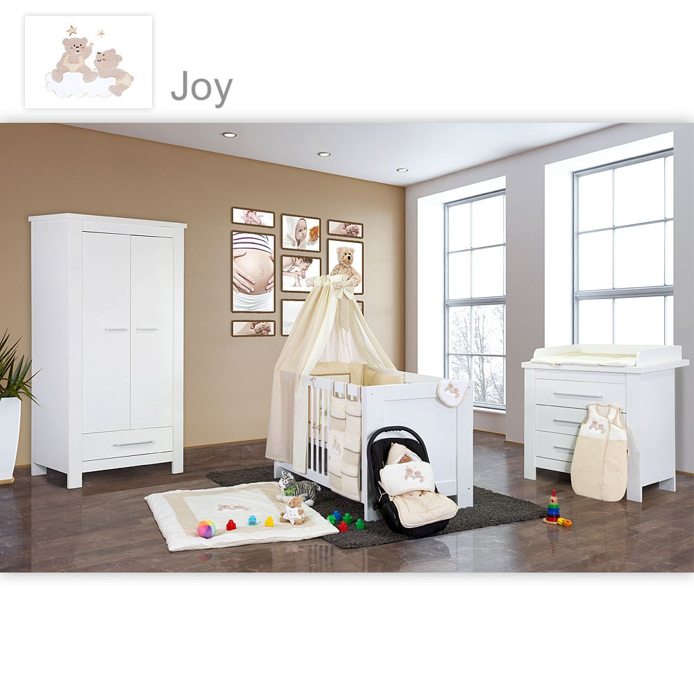 babyzimmer 19tlg kinderzimmer m bel textilien ebay. Black Bedroom Furniture Sets. Home Design Ideas