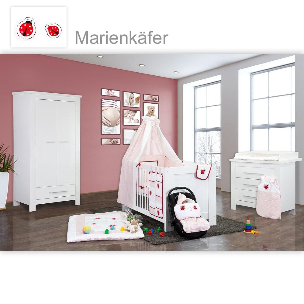 babyzimmer 19 tlg kinderzimmer komplett babybett incl 15. Black Bedroom Furniture Sets. Home Design Ideas