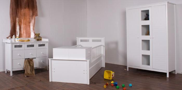 Luxus Babyzimmer Evante Umbaubar zum Juniorzimmer Neu  eBay