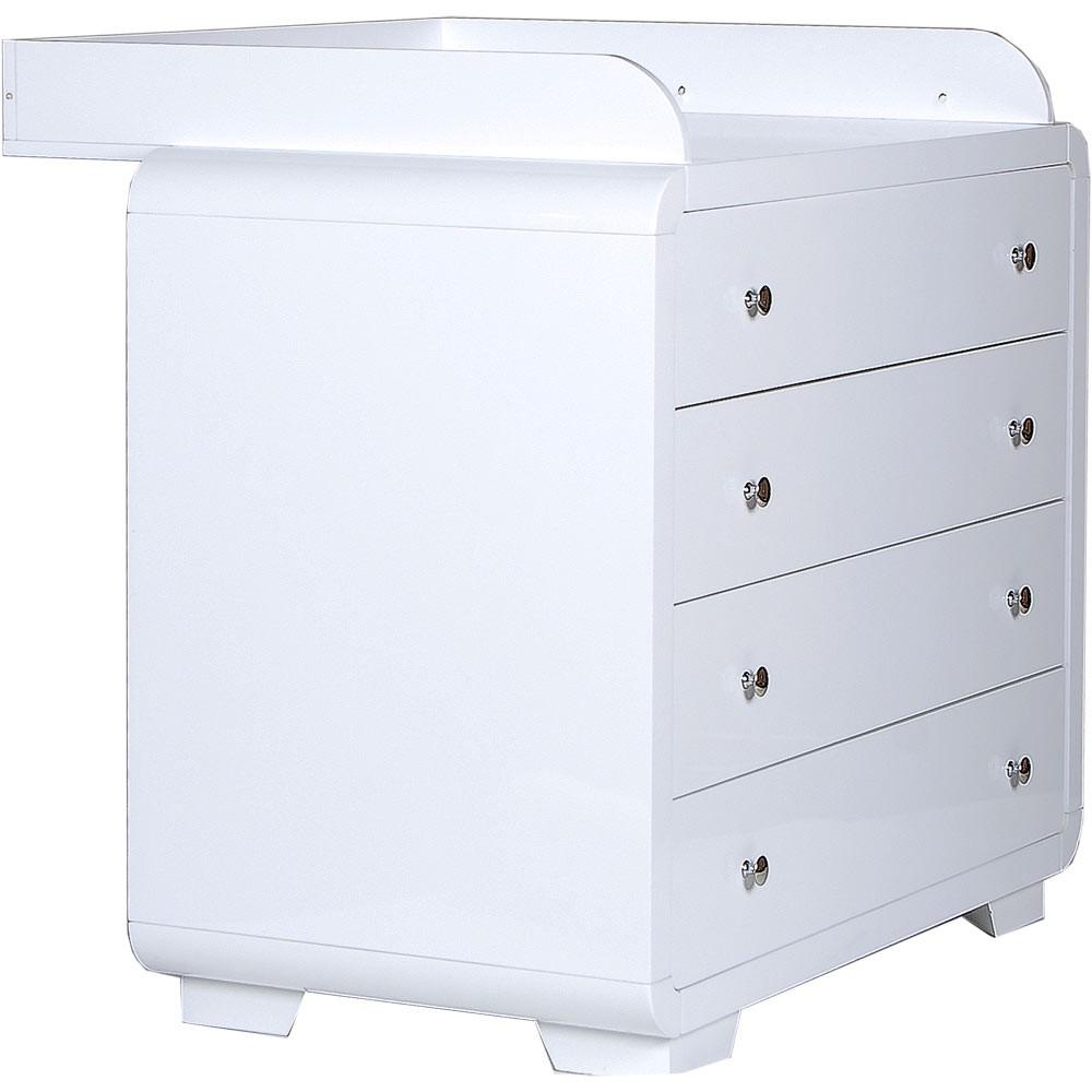 yves wickelkommode aufsatz 4 schubladen neu org ebay. Black Bedroom Furniture Sets. Home Design Ideas