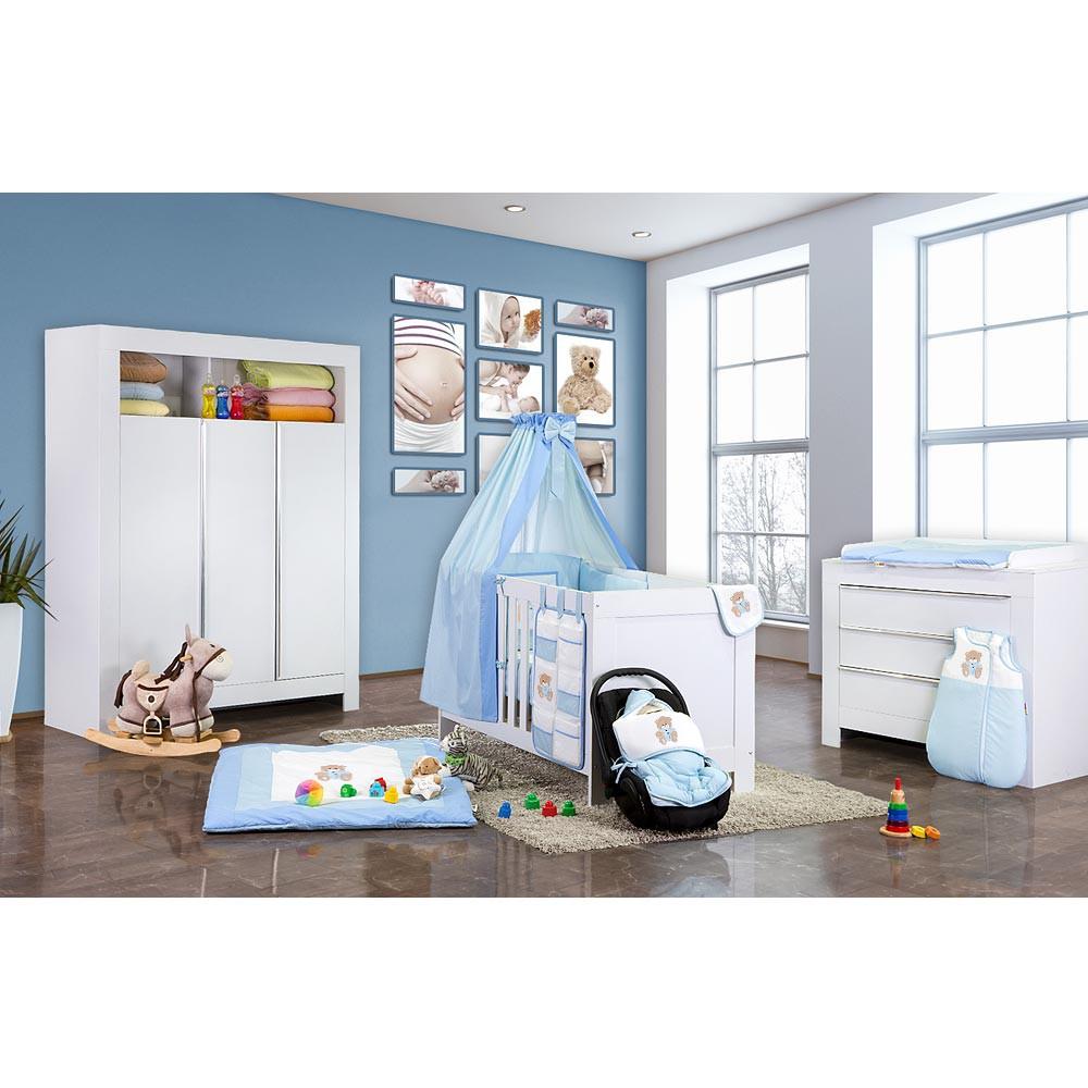 Babyzimmer Kinderzimmer Felix In Weiss Oder Akaziengrau Mit