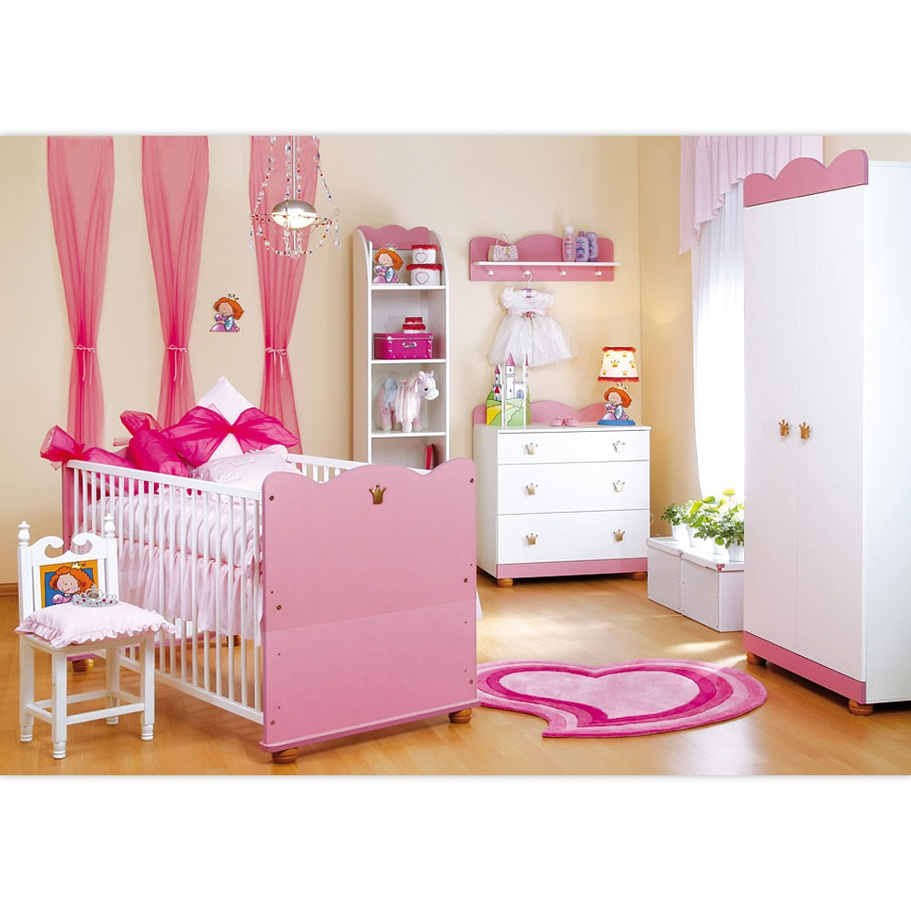 babyzimmer einzeln oder als set kleine prinzessin oder kleiner prinz collektio ebay. Black Bedroom Furniture Sets. Home Design Ideas