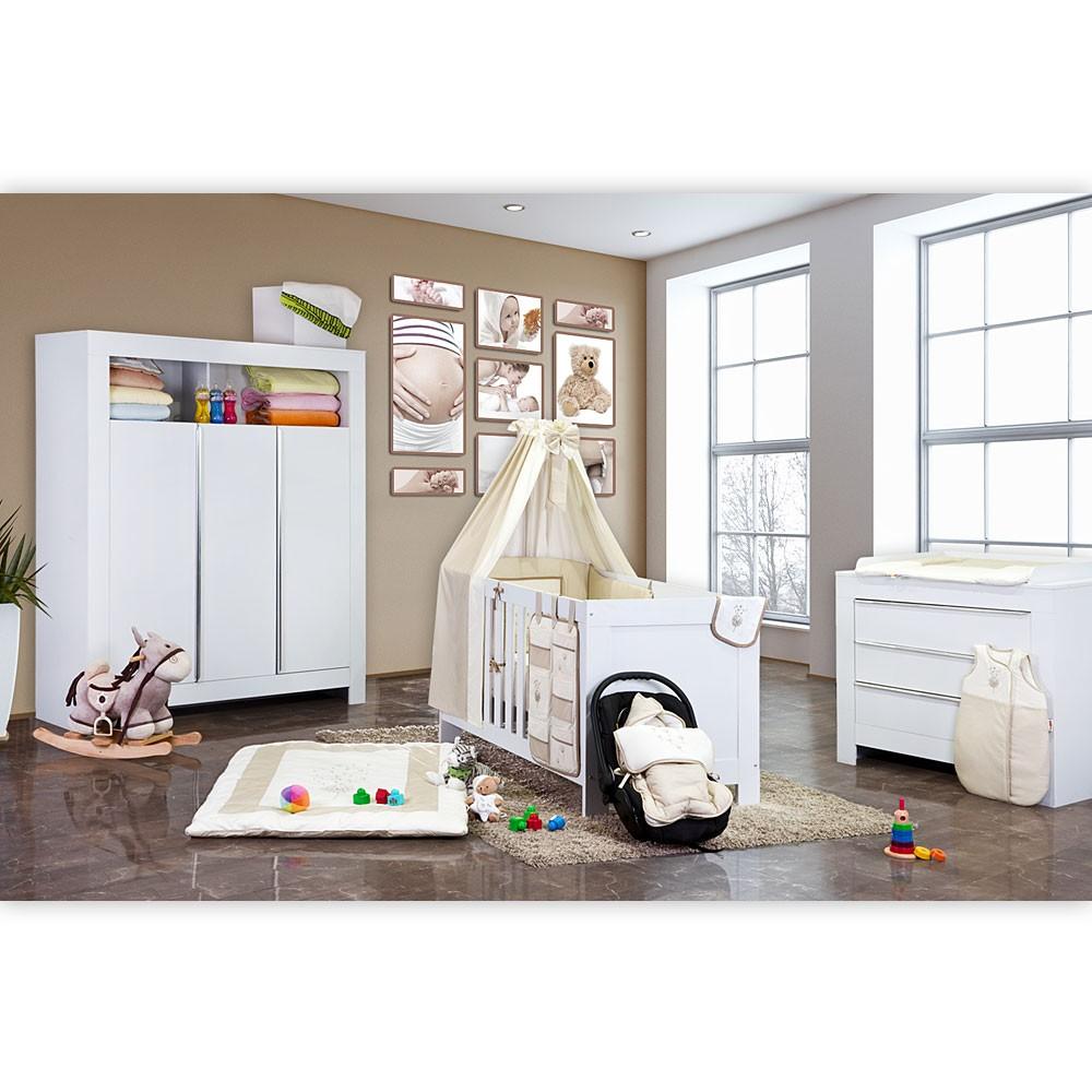 bett mit wickelauflage. Black Bedroom Furniture Sets. Home Design Ideas