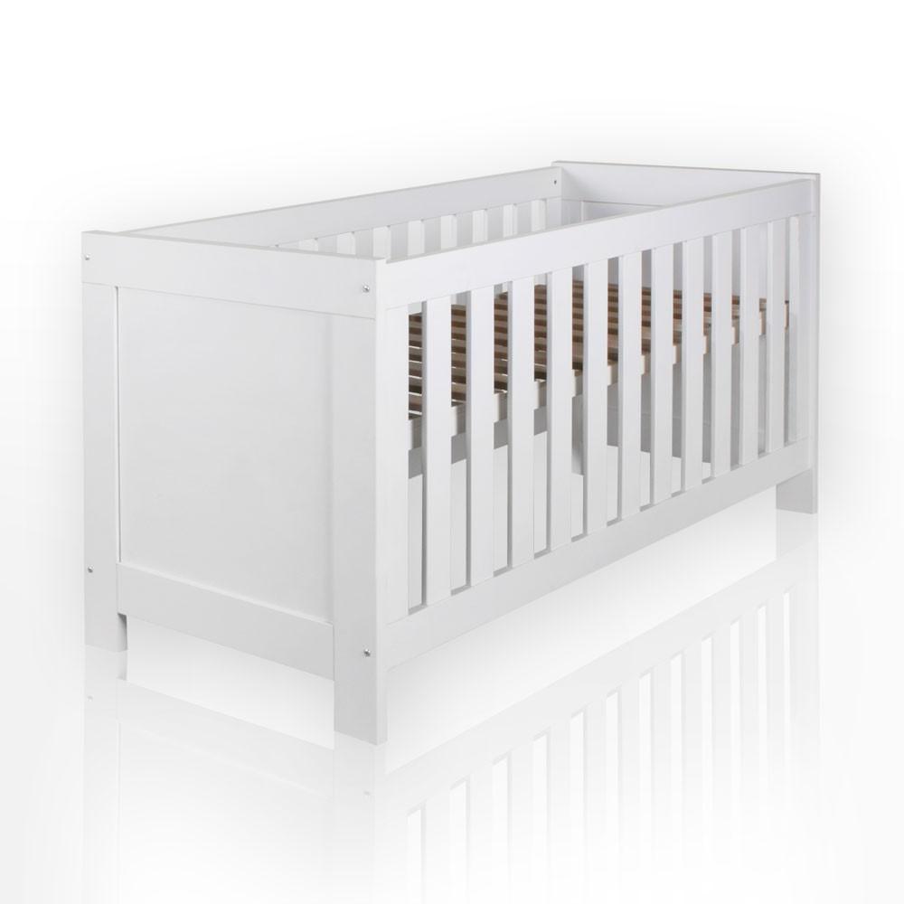 babybett aus der serie felix in wei ebay. Black Bedroom Furniture Sets. Home Design Ideas