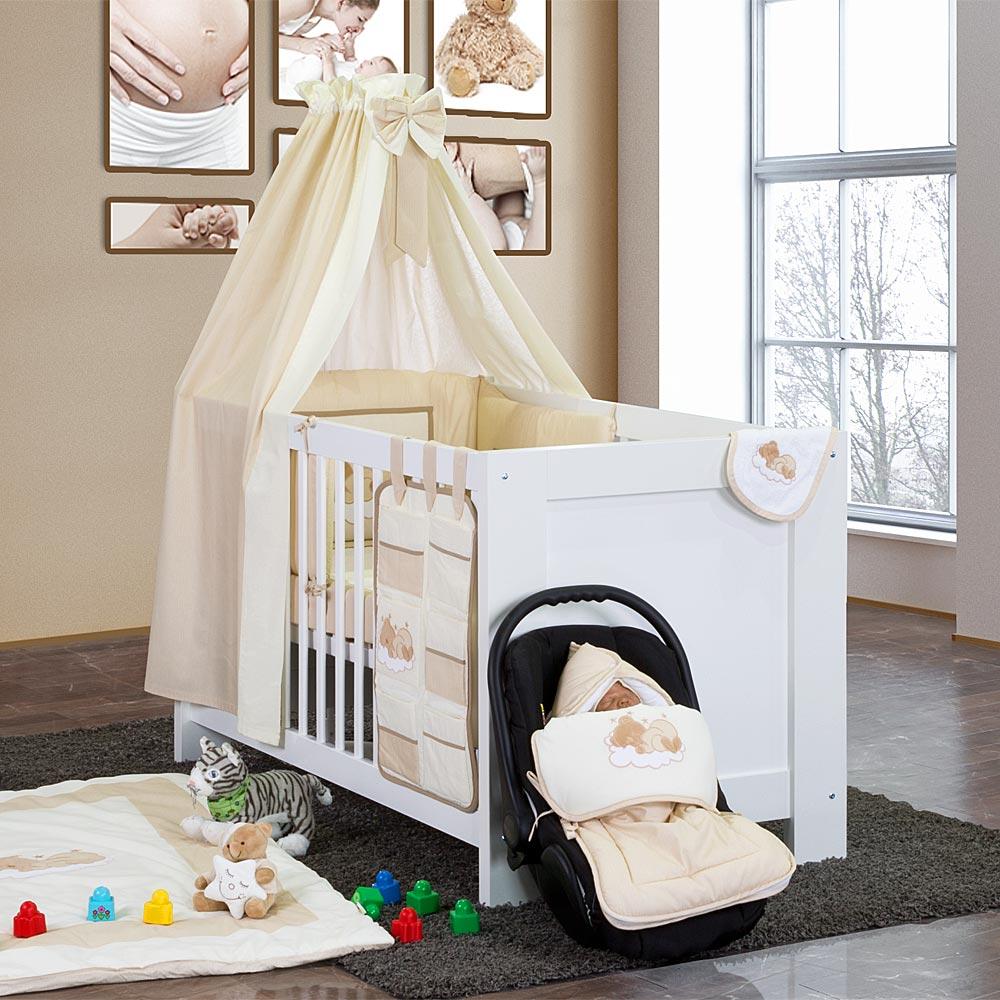 luxus babyzimmer enni 19 tlg mit riesen bettsetpaket ebay