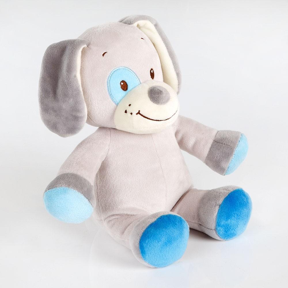 Spieluhr Hund Blau