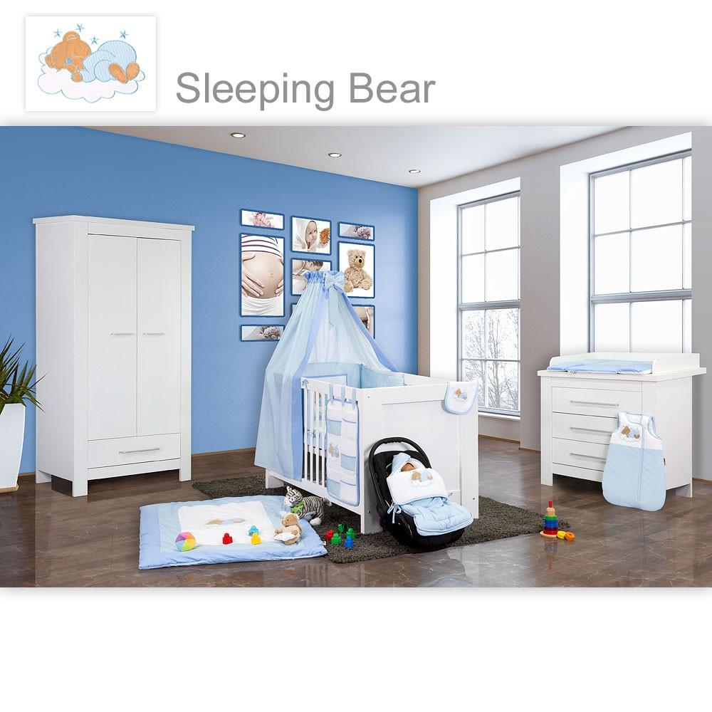 Babyzimmer Kinderzimmer Enni matt oder hochglanz mit 2 oder 3 Schrank  eBay