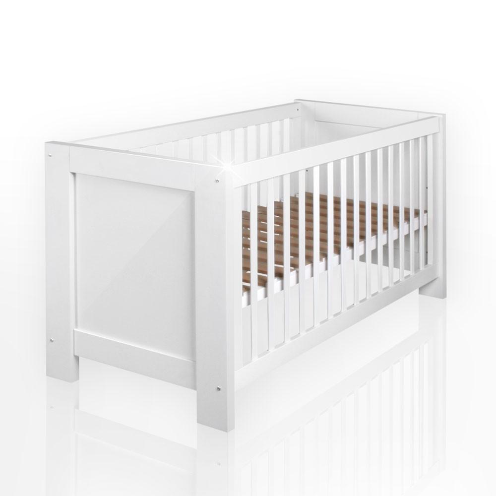Babyzimmer Felix Babybett Aus Der Serie Enni In Hochglanz 70 X 140 Cm Baby