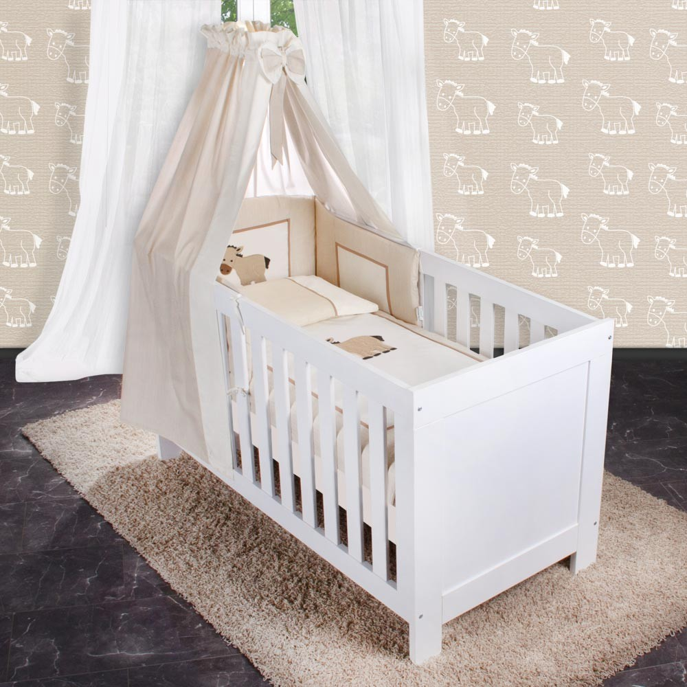 ihr indivuduelles babybett mit verschieden textilien und motiven baby artikel konfigurator. Black Bedroom Furniture Sets. Home Design Ideas